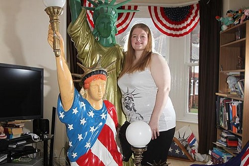 Amanda Whittaker Love Statue of Liberty