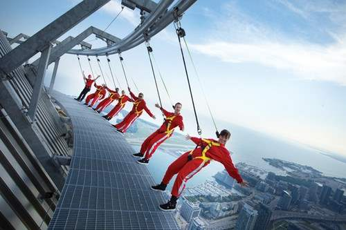 EdgeWalk at Toronto's CN Tower