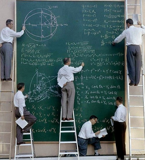 NASA Board Of Calculations