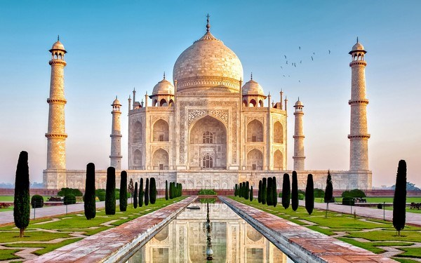 Most Iconic Buildings Taj Mahal