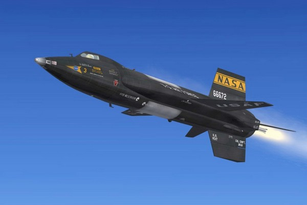 Fastest Aircrafts North American X-15