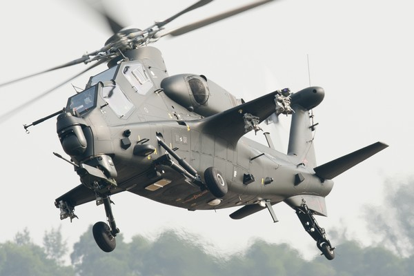 Chinese Z-10 Gunship Helicopter