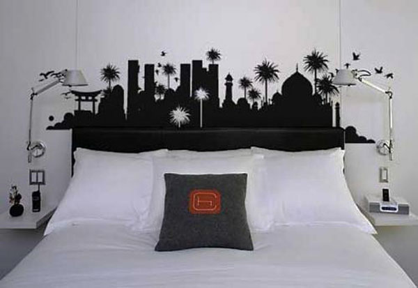 Wall Sticker Headboard