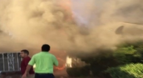 Fresno Fire Witnesses See 'Jesus in the Smoke'