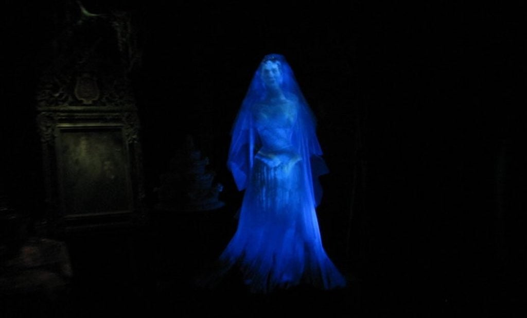 Ghost of The Blue Lady
