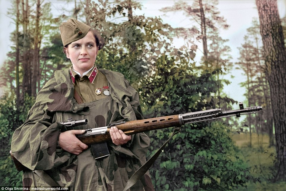 Deadliest Russian female snipers