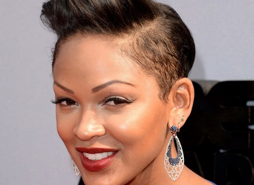 Meagan Good Bald Head