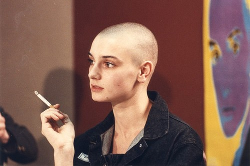 Sinead O'Connor Celebs with Bald Head