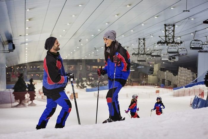Winter sports Dubai